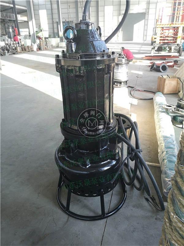 电动清淤泵 河道抽沙泵 高效便捷泥浆泵