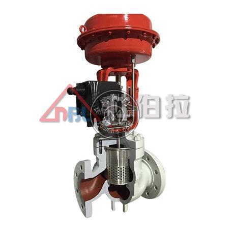 鑄鋼 不銹鋼氣動調節閥 氣動低噪音籠式調節閥 氣動單座調節閥