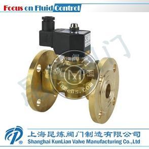 2W系列膜片式法兰电磁阀