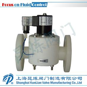 ZCF-F耐腐蚀法兰电磁阀