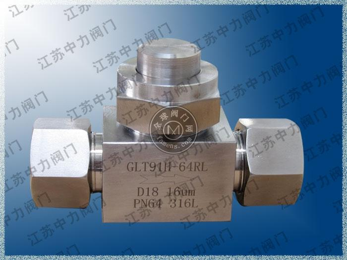 DN25不锈钢高压T型过滤器