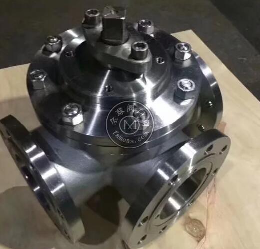 氣動三通球閥 不銹鋼三通球閥 法蘭三通球閥