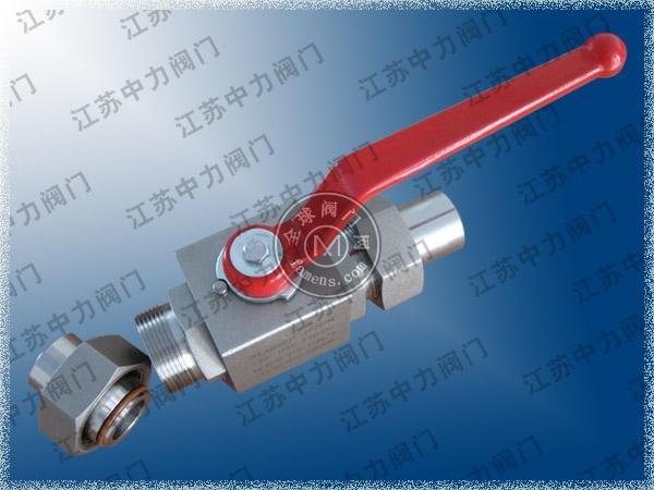 Q21N-500P-DN32天然氣焊接式高壓球閥