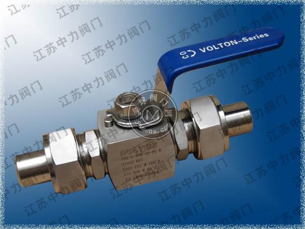 進口D-PRO天然氣高壓球閥