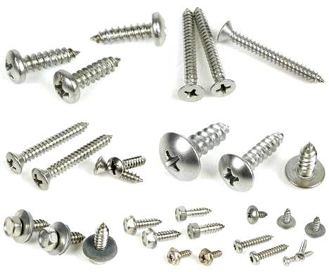 专业供应公制、英制、美制不锈钢(SUS302HQ、304HC)机械小螺钉