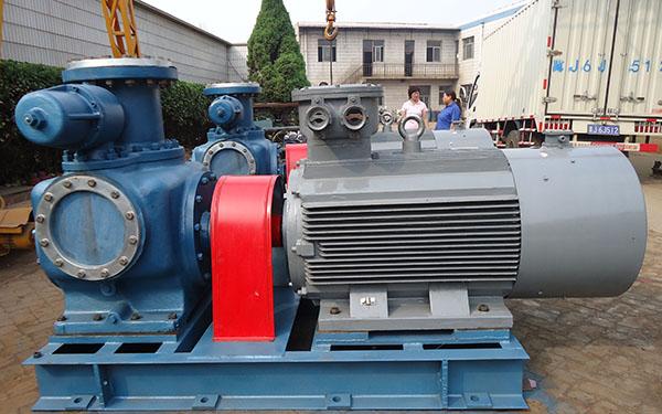 W3.1ZK-30Z2M1W77雙螺桿泵,配:Y11KW-8做油氣混輸螺桿泵