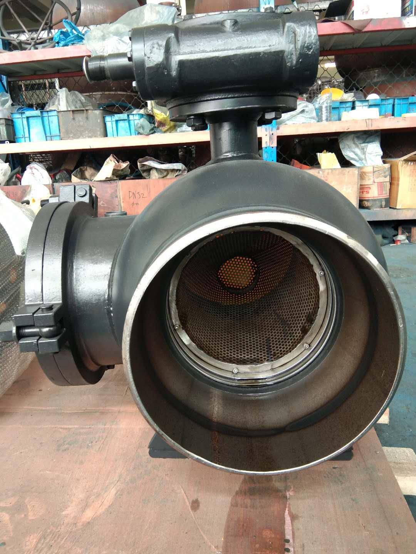 GQ361F-10C自滤式全焊接球阀