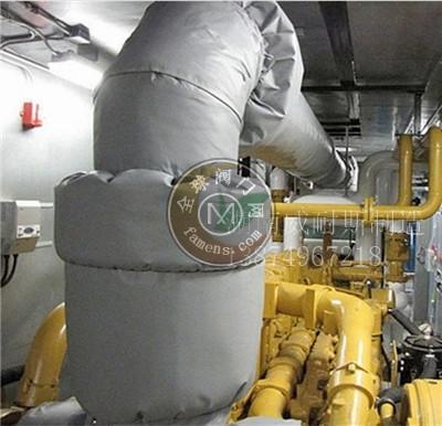汽车排气管隔热套 排气管隔热罩 各种管道保温夹套 厂家直销定制