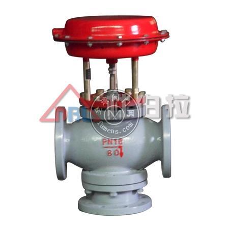 氣動活塞式/薄膜式三通切斷閥 規格齊全 質量保證