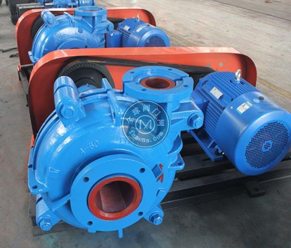 6/4D-AH渣漿泵 耐磨泵 雜質泵 河北渣漿泵