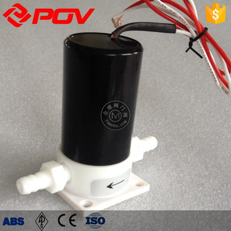 耐强酸强碱POF塑料王电磁阀