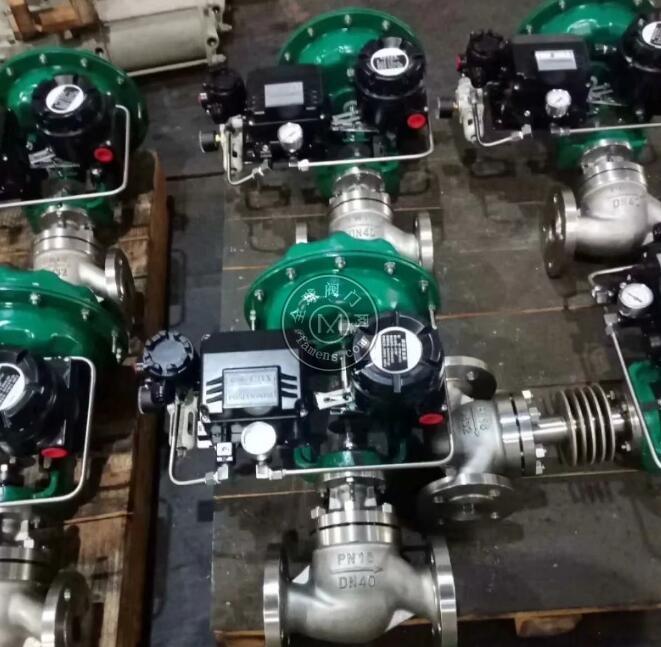 2205气动调节阀 2507双相钢调节阀 2507双相钢气动调节阀