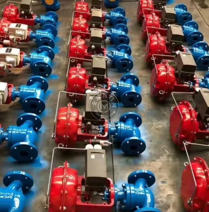 气动碳钢调节阀 气动高压调节阀 气动法兰调节阀