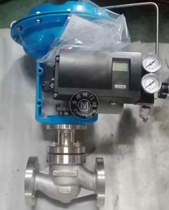 精小型气动调节阀 气动单座调节阀 薄膜气动调节阀