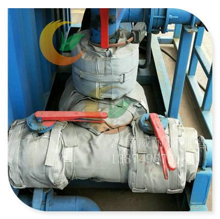 橡胶轮胎厂阀门管道柔性保温套 疏水器人孔隔热罩 节能效果好