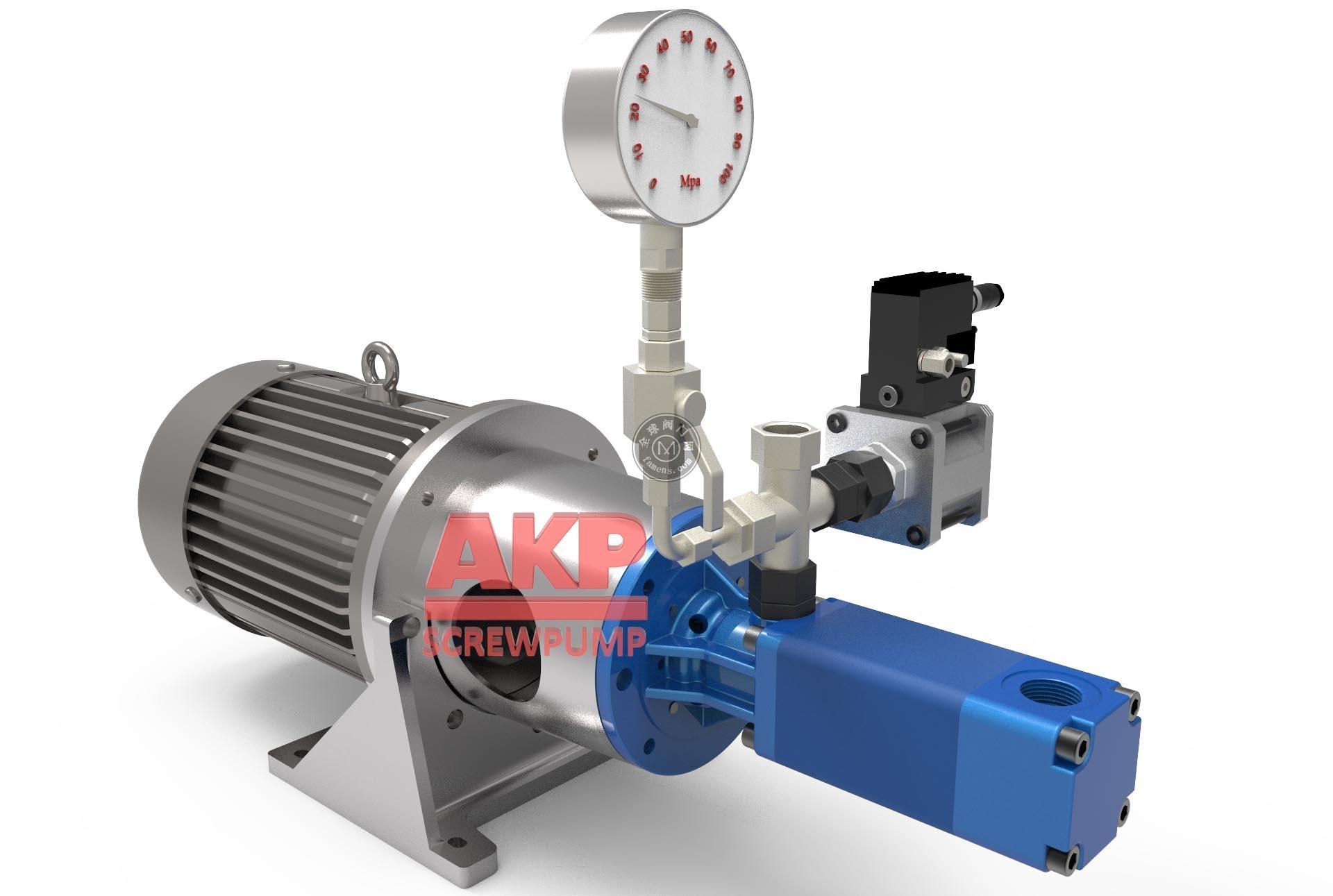 高压机床冷却泵ATS25-60-S-L-A-G-KB 流量37.5升每分钟压力70bar主轴中心出水刀具冷却排屑断屑现货配套供应