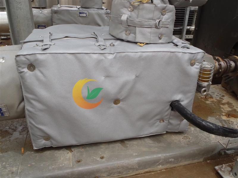 可拆卸保温材料 气凝胶保温材料 可拆卸保温棉 防水保温套 防油污保温衣