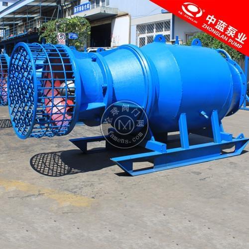 雪橇式潜水轴流泵 简易式安装潜水轴流泵