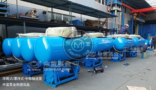 浮筒式潜水轴流泵 QZF系列轴流泵
