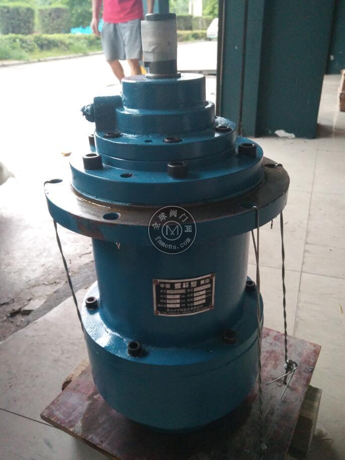 出售HSJ120-42恒利電廠配套螺桿泵整機