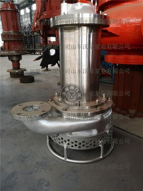 沃泉大功率抽泥泵 大颗粒砂浆泵 耐磨排沙泵