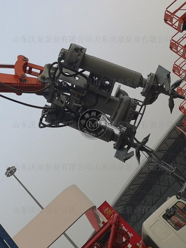 沃泉挖机矿沙泵 多功能液压泵 大颗粒砂浆泵