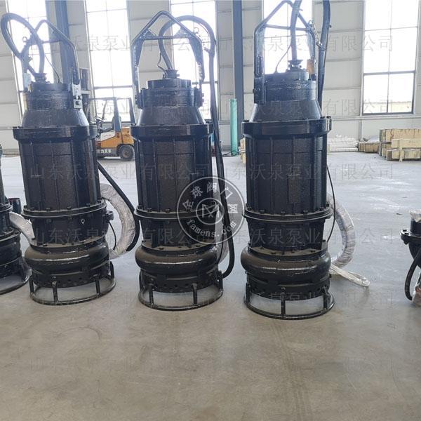 沃泉WJQ泥沙泵 电动抽沙泵 潜水排沙泵