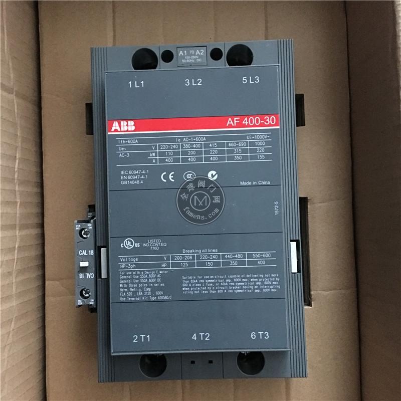 ABB接触器AF400-30-11