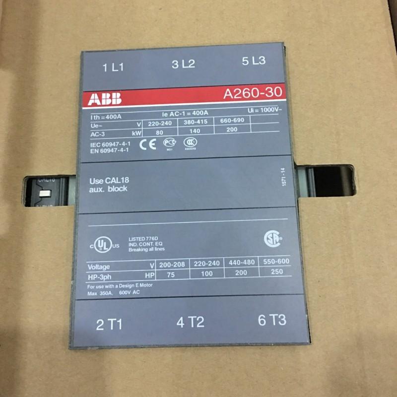 ABB接触器A260-30-11