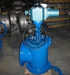 J744X-10液压角式快开排泥阀DN80-500mm