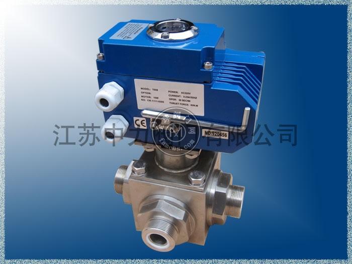 Q926N-320P电动四通高压球阀