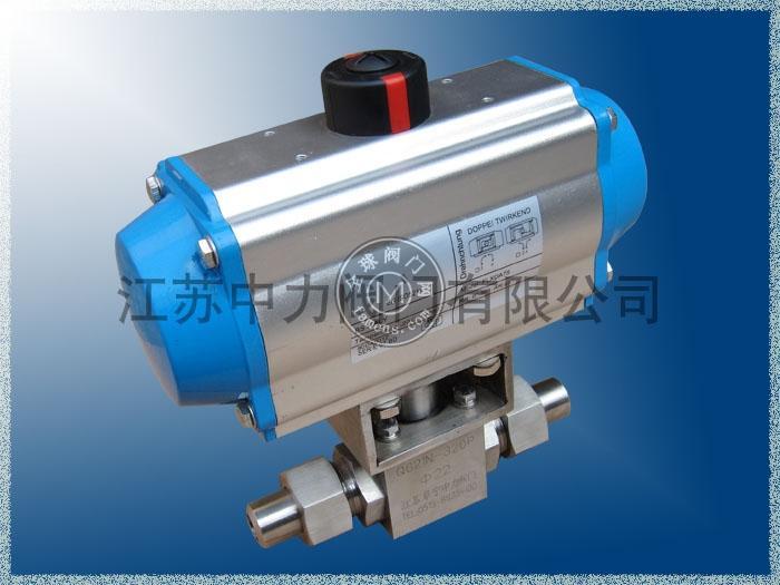 Q621N氣動高壓焊接球閥