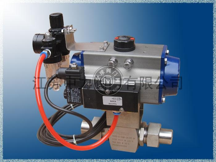 Q61F氣動高溫高壓球閥