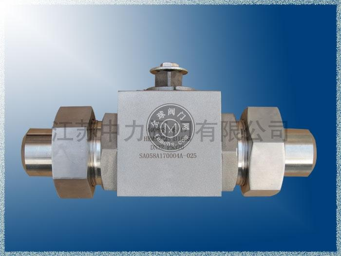 MHA進口不銹鋼高壓球閥