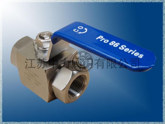 H2B不锈钢高压进口球阀