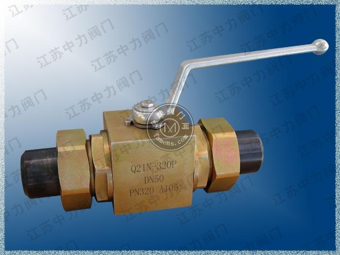 CNG专用高压锻钢球阀