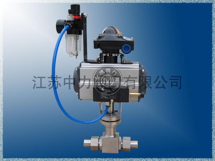 32MPa气动低温焊接式球阀