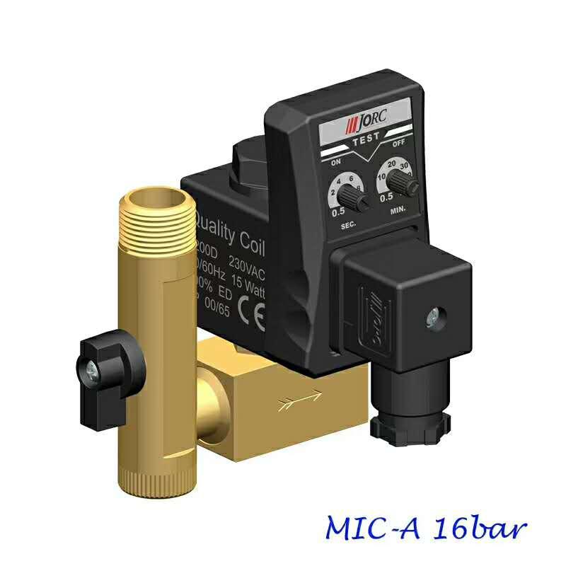 JORC空压机电子排水阀高压型电子排水阀MIC-HP40
