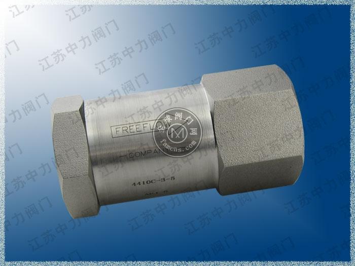高壓不銹鋼單向閥生產廠家 高壓不銹鋼單向閥批發商