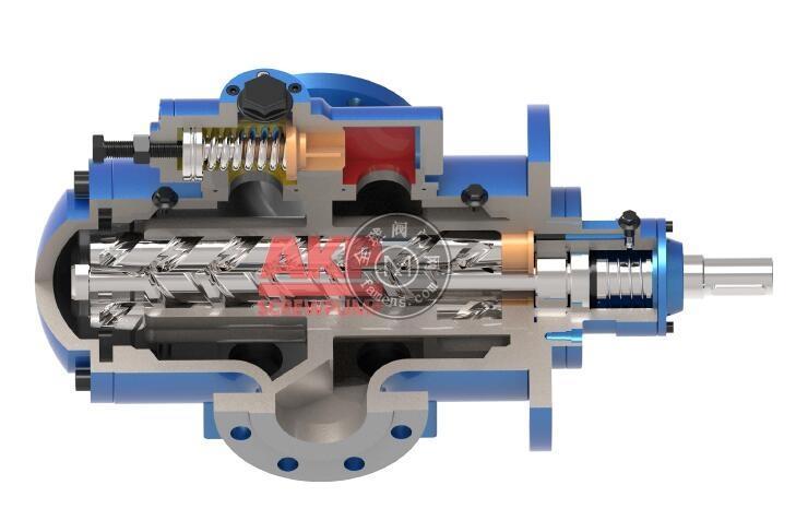 冷轧卷板稀油润滑轧机油泵HSNF80R42N1M
