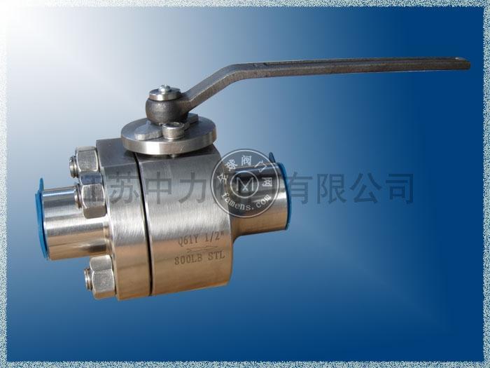不銹鋼高溫高壓球閥