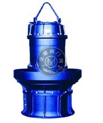 井筒式軸流電泵海上污水排放