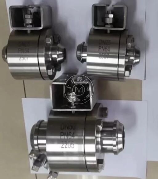 2205 2507双相钢焊接球阀 锻钢球阀 二片式焊接球阀