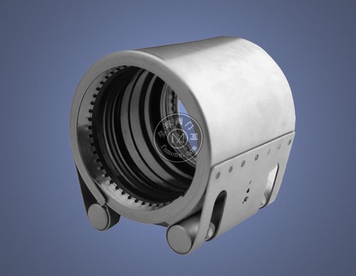 徐州易連管道連接器,管道修補器堵漏器不銹鋼材質