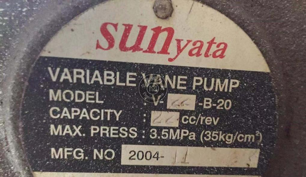 V-22-B-20臺灣SUNyata葉片泵