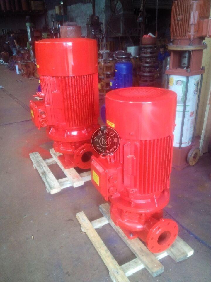 新國標3CF消火栓給水泵 噴淋泵廠家XBD8.0/15G-80L-250上海泉爾