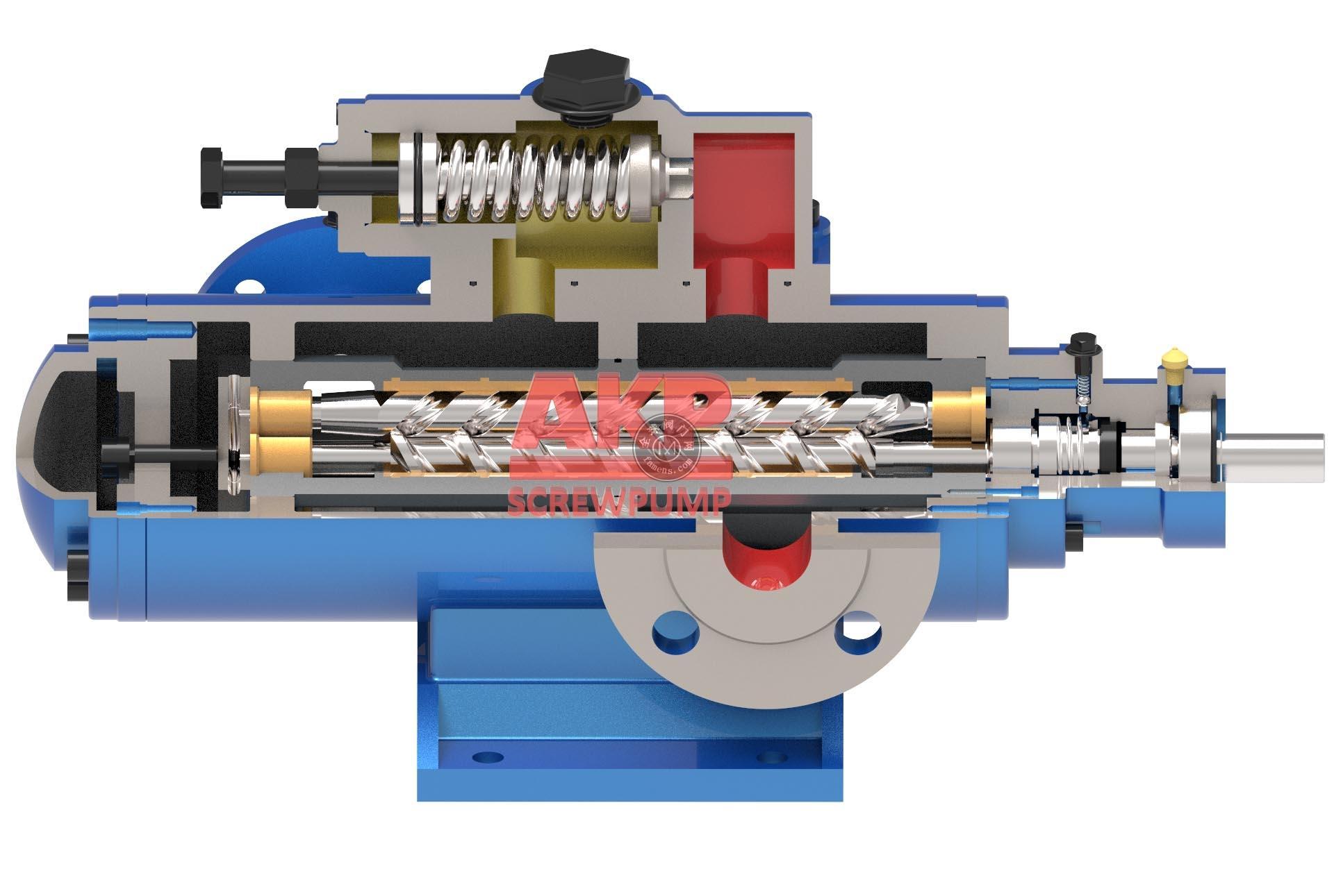 SMH系列点火油泵水泥厂窑头点火泵SMH80R46E6.7W23三螺杆泵厂家