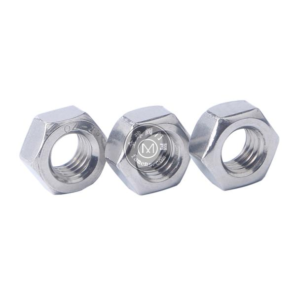 重慶不銹鋼六角螺母 重慶不銹鋼緊固件廠家