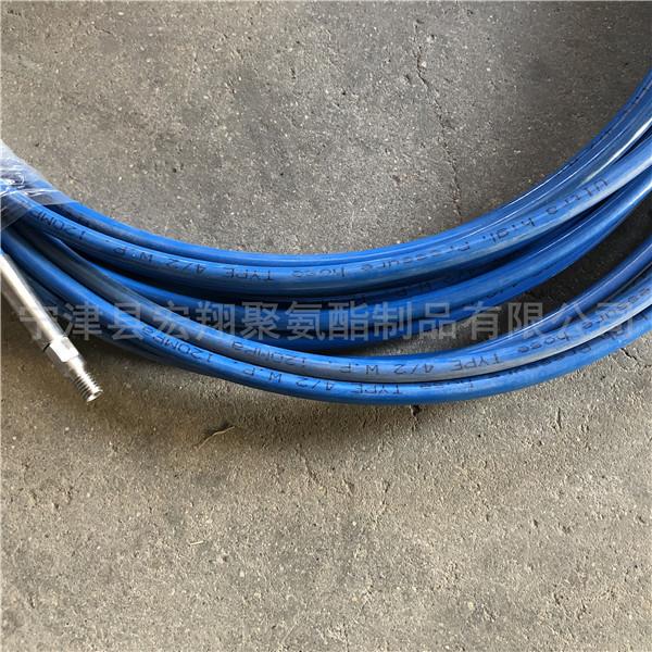 树脂耐磨高压清洗软管 工业清洗专用高压软管