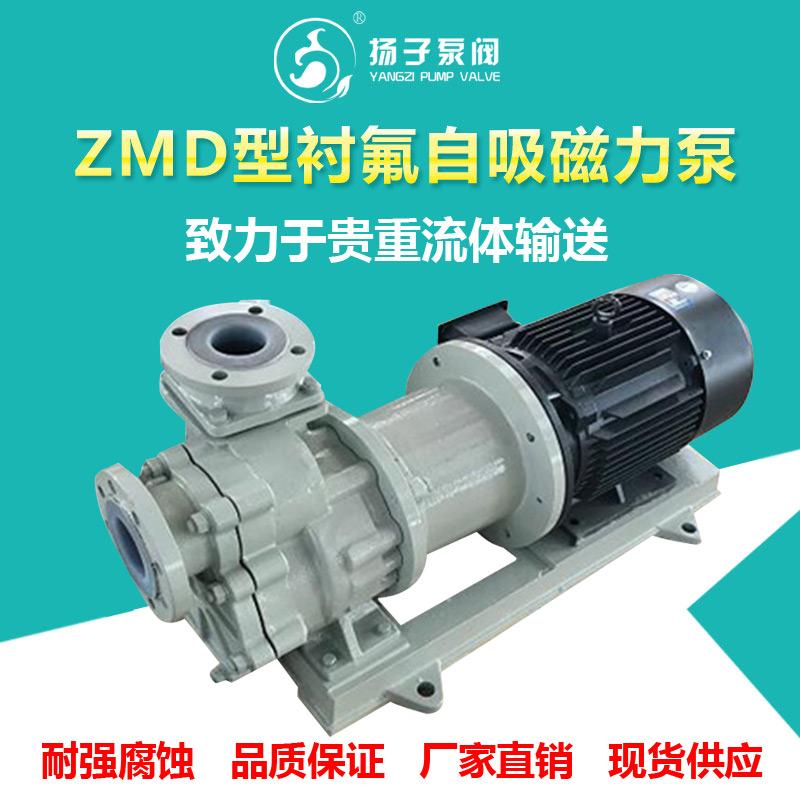 ZMD型氟塑料磁力自吸泵耐腐蚀磁力泵
